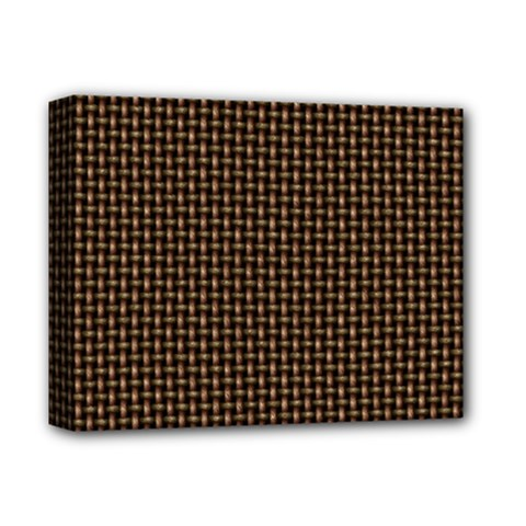 Fabric Pattern Texture Background Deluxe Canvas 14  X 11