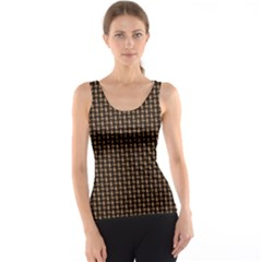Fabric Pattern Texture Background Tank Top
