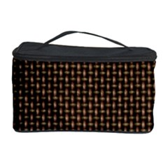 Fabric Pattern Texture Background Cosmetic Storage Case
