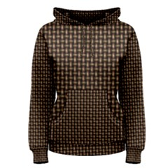 Fabric Pattern Texture Background Women s Pullover Hoodie