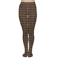 Fabric Pattern Texture Background Women s Tights