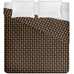 Fabric Pattern Texture Background Duvet Cover Double Side (king Size)