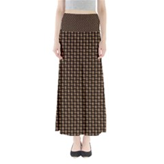 Fabric Pattern Texture Background Maxi Skirts