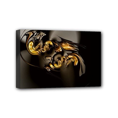 Fractal Mathematics Abstract Mini Canvas 6  X 4