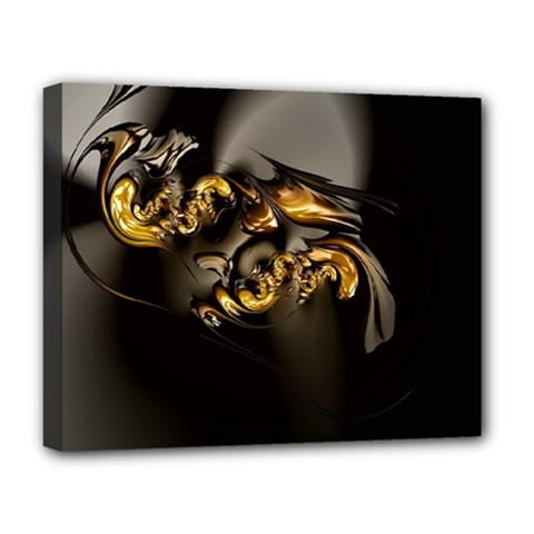 Fractal Mathematics Abstract Deluxe Canvas 20  X 16