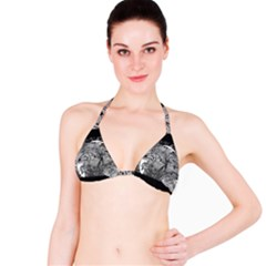 Kringel Circle Flowers Butterfly Bikini Top