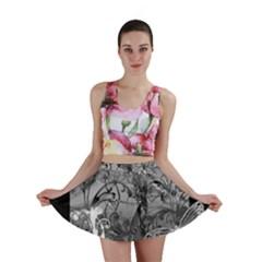 Kringel Circle Flowers Butterfly Mini Skirt