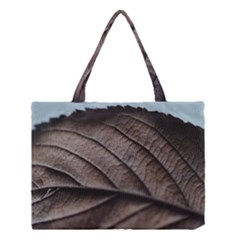 Leaf Veins Nerves Macro Closeup Medium Tote Bag