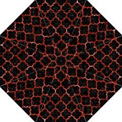 Tile1 Black Marble & Red Marble Hook Handle Umbrella (medium)