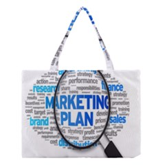 Article Market Plan Medium Tote Bag