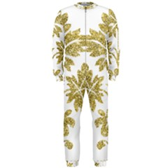 Gold Authentic Silvery Pattern OnePiece Jumpsuit (Men)