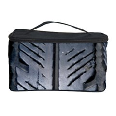 Mature Black Auto Altreifen Rubber Pattern Texture Car Cosmetic Storage Case