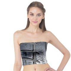 Mature Black Auto Altreifen Rubber Pattern Texture Car Tube Top