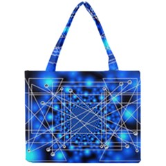 Network Connection Structure Knot Mini Tote Bag