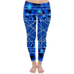 Network Connection Structure Knot Classic Winter Leggings