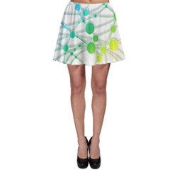 Network Connection Structure Knot Skater Skirt