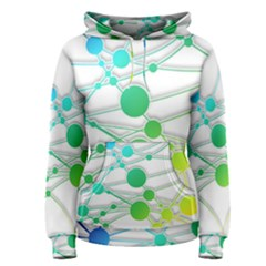 Network Connection Structure Knot Women s Pullover Hoodie