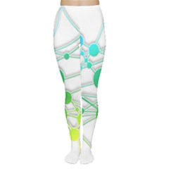 Network Connection Structure Knot Women s Tights