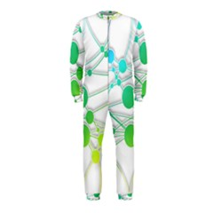 Network Connection Structure Knot Onepiece Jumpsuit (kids)