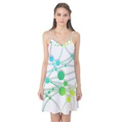 Network Connection Structure Knot Camis Nightgown