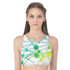 Network Connection Structure Knot Tank Bikini Top