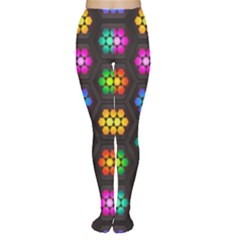 Pattern Background Colorful Design Women s Tights