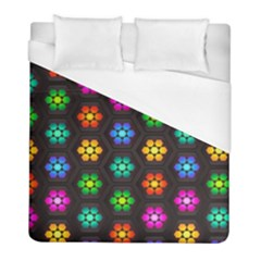 Pattern Background Colorful Design Duvet Cover (full/ Double Size)
