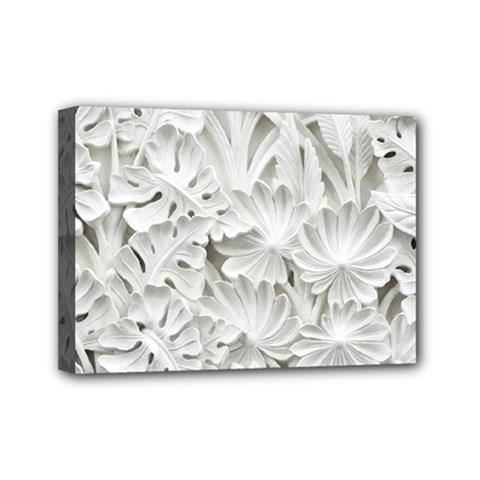 Pattern Motif Decor Mini Canvas 7  X 5