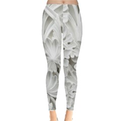 Pattern Motif Decor Leggings