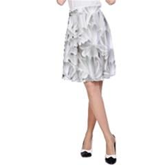 Pattern Motif Decor A Line Skirt