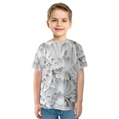 Pattern Motif Decor Kids  Sport Mesh Tee