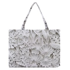 Pattern Motif Decor Medium Zipper Tote Bag