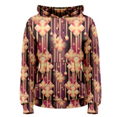 Seamless Pattern Women s Pullover Hoodie