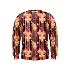 Seamless Pattern Kids  Sweatshirt