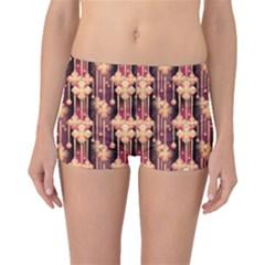 Seamless Pattern Boyleg Bikini Bottoms