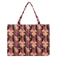 Seamless Pattern Medium Zipper Tote Bag