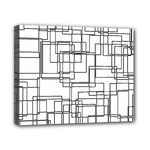 Structure Pattern Network Canvas 10  x 8