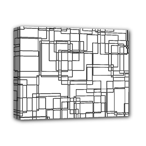 Structure Pattern Network Deluxe Canvas 14  X 11