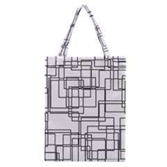 Structure Pattern Network Classic Tote Bag