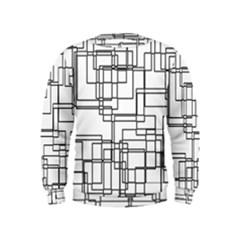 Structure Pattern Network Kids  Sweatshirt