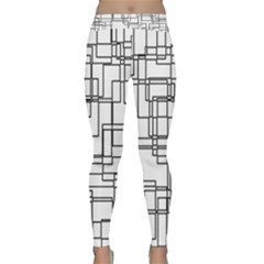 Structure Pattern Network Classic Yoga Leggings