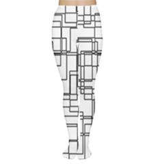 Structure Pattern Network Women s Tights