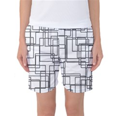 Structure Pattern Network Women s Basketball Shorts