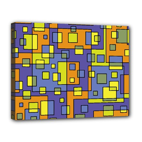Square Background Background Texture Canvas 14  X 11