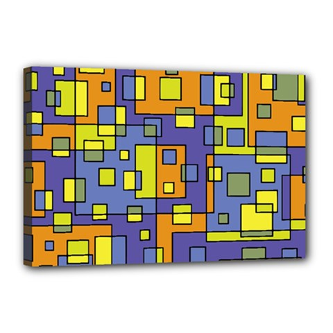 Square Background Background Texture Canvas 18  X 12