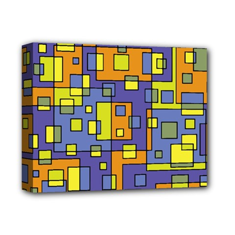 Square Background Background Texture Deluxe Canvas 14  x 11