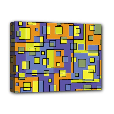 Square Background Background Texture Deluxe Canvas 16  X 12