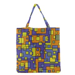 Square Background Background Texture Grocery Tote Bag