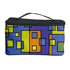 Square Background Background Texture Cosmetic Storage Case