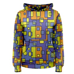 Square Background Background Texture Women s Pullover Hoodie